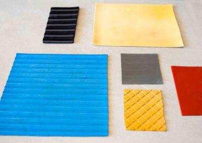 Comar Trust - Plates Rubber mats